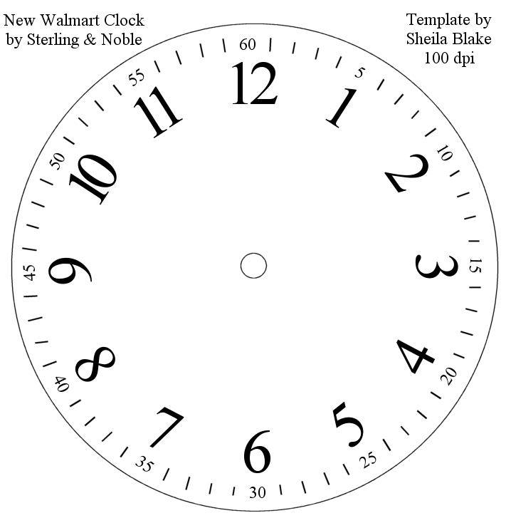 Free Clock Templates, Download Free Clip Art, Free Clip