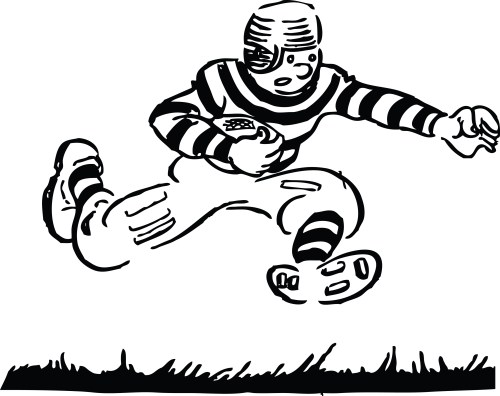 small resolution of football clipart black and white clipart library free clipart images