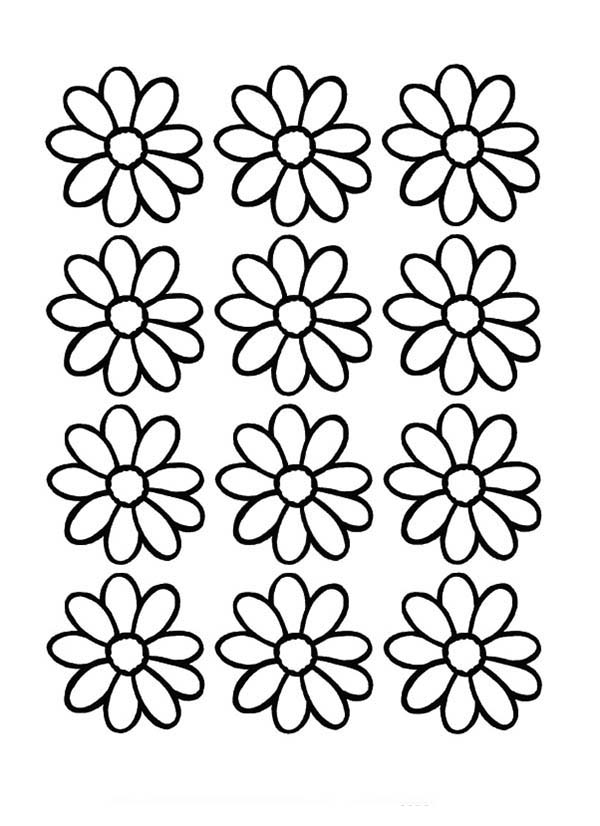 Free Daisy Flower Outline, Download Free Clip Art, Free