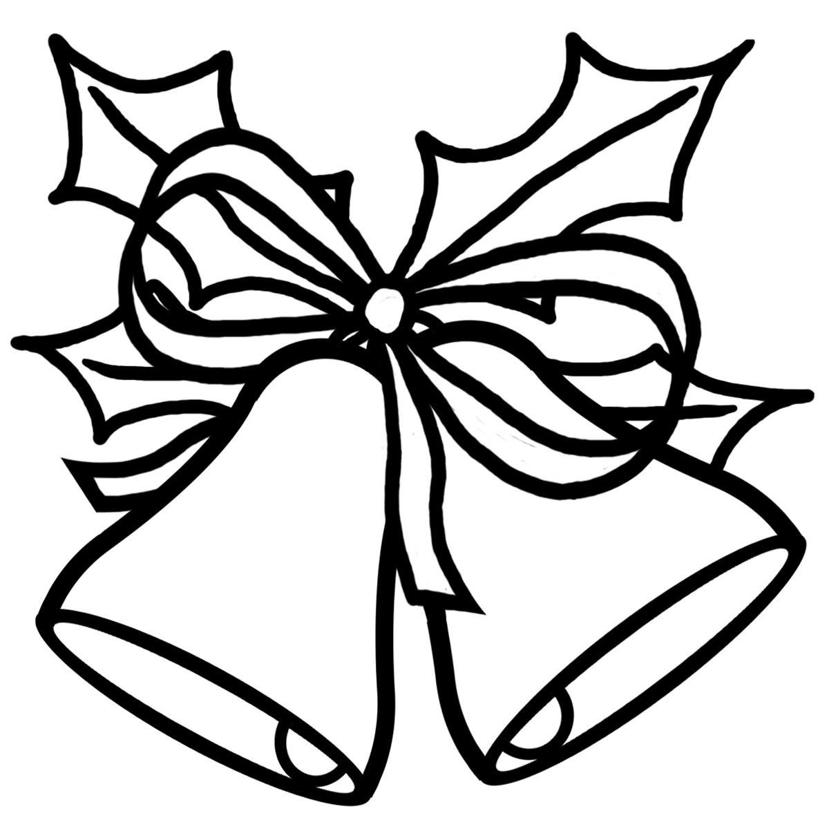 Religious Christmas Clip Art Black And White