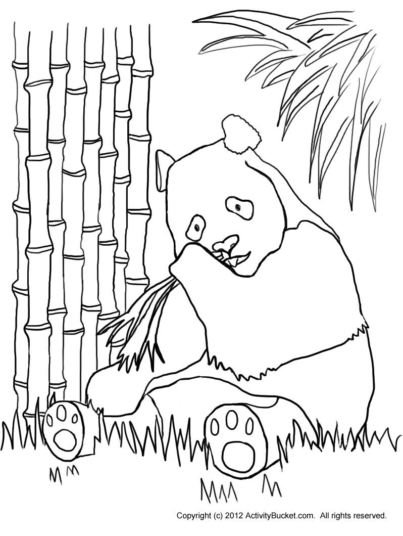 Free PANDA OUTLINE, Download Free Clip Art, Free Clip Art
