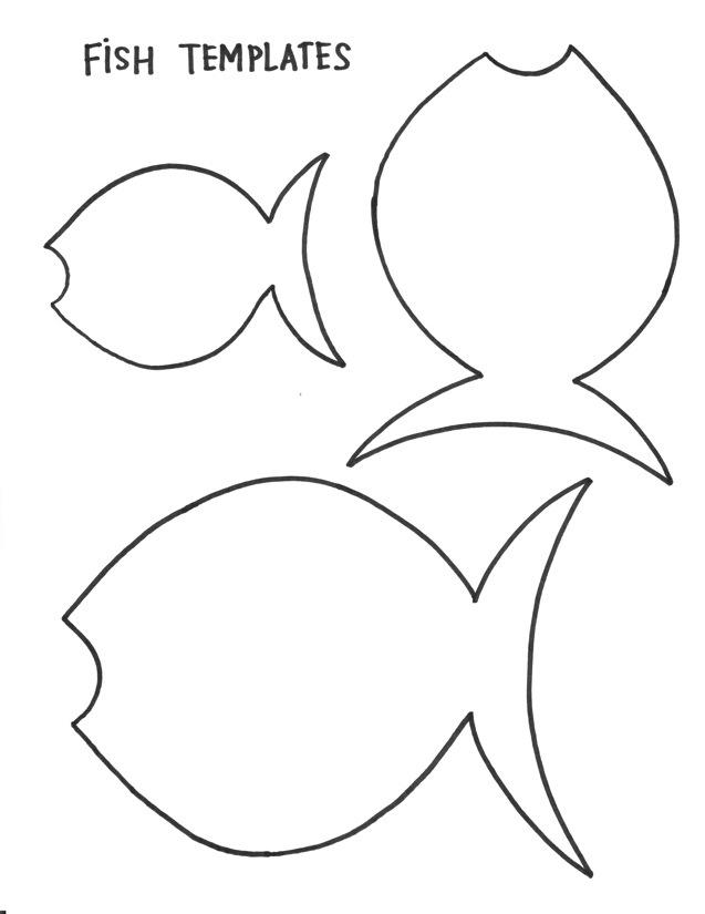 Free Fish Templates, Download Free Clip Art, Free Clip Art
