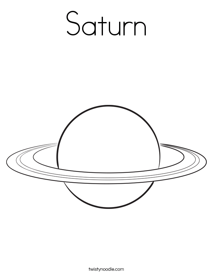 Saturn Rings Photo