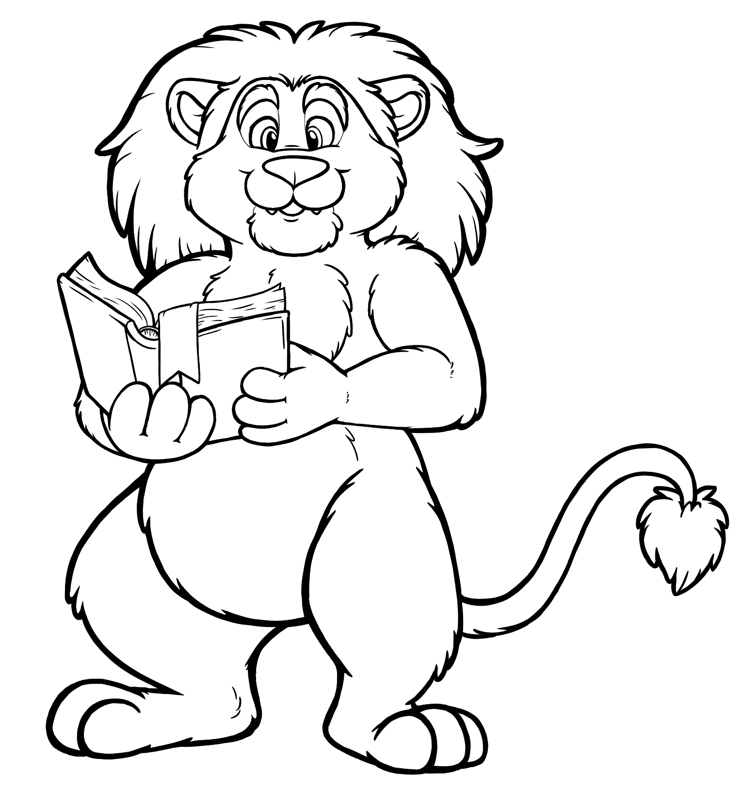 Free Lion Line Drawing Download Free Clip Art Free Clip