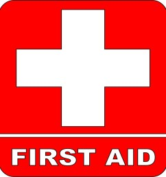 first aid logo clipart library [ 1228 x 1280 Pixel ]