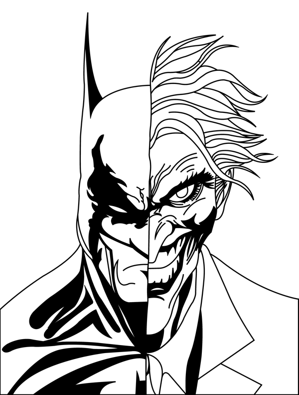 Free Outline Of Batman, Download Free Clip Art, Free Clip