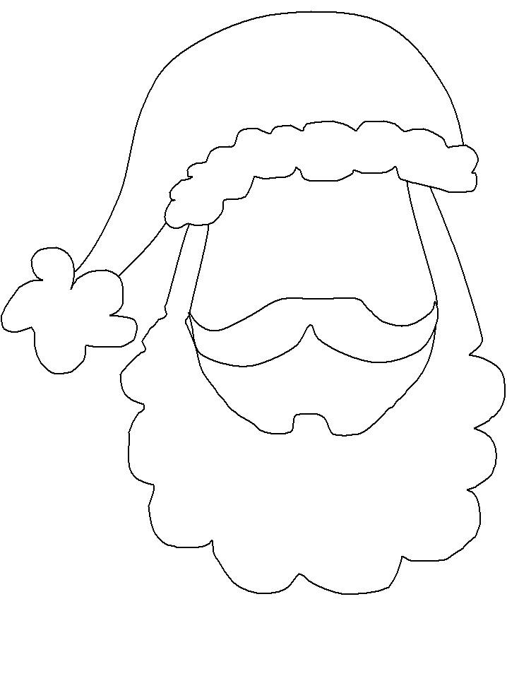Free Santa Face, Download Free Clip Art, Free Clip Art on