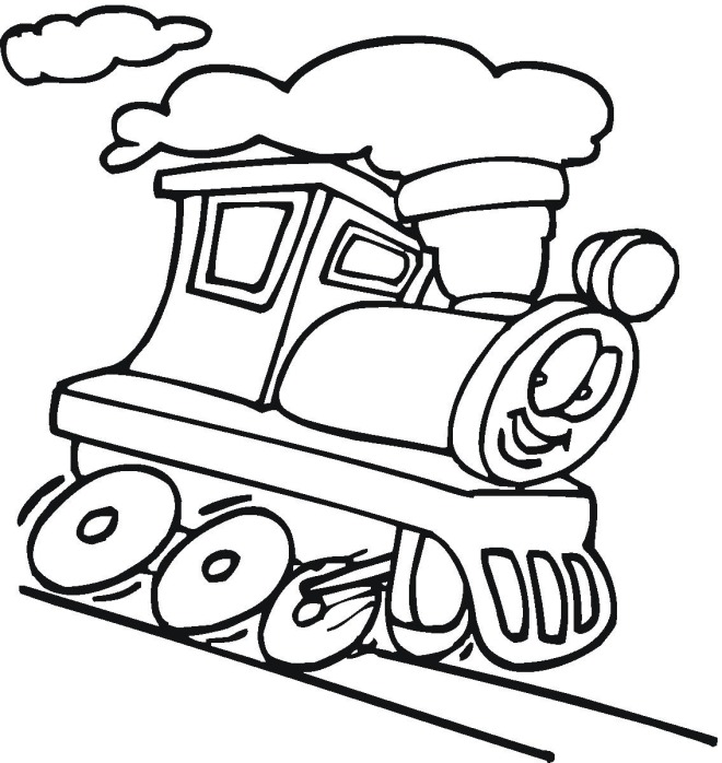 Free Train Drawings For Kids, Download Free Clip Art, Free