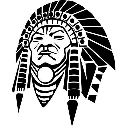 small resolution of images for clip art indian chief