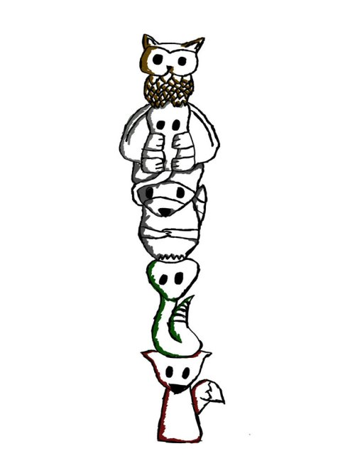 small resolution of images for totem poles drawings