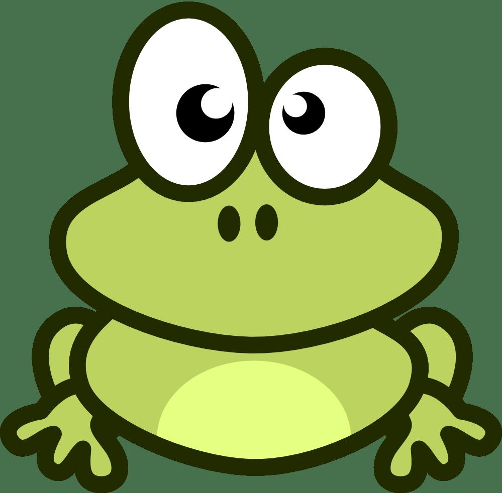 medium resolution of free cute cartoon frog clip art