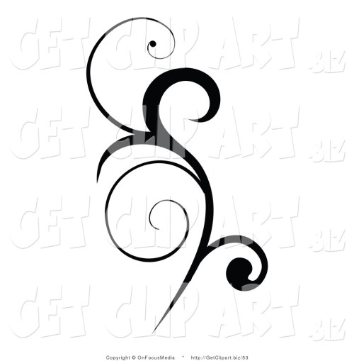 small resolution of simple scroll design clip art clipart library free clipart images