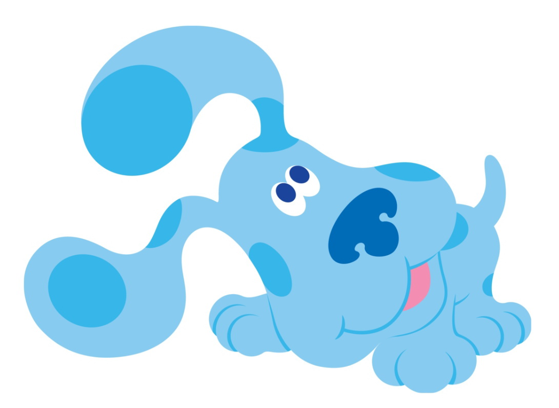 hight resolution of blues clues clipart