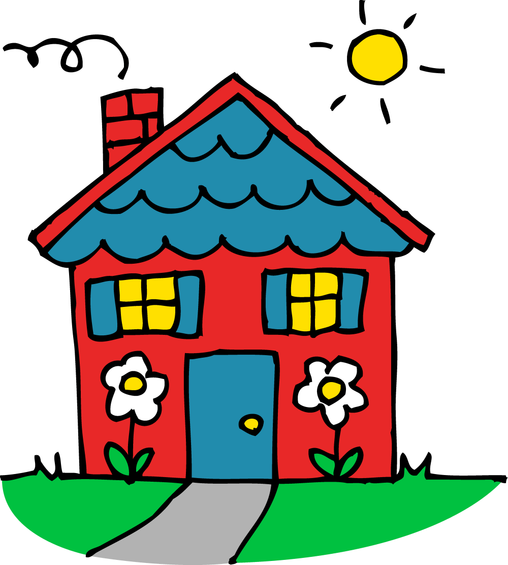 medium resolution of charming little red house free clip art