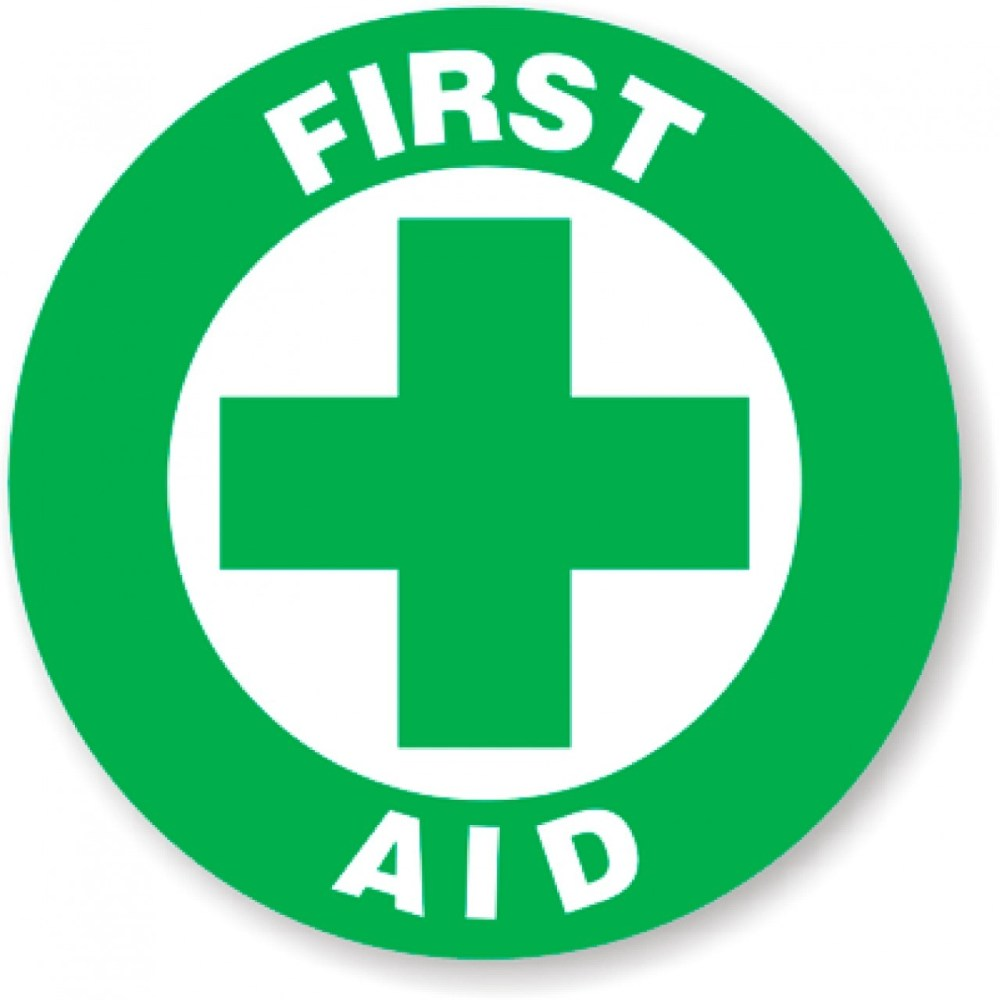 medium resolution of first aid signage clipart library