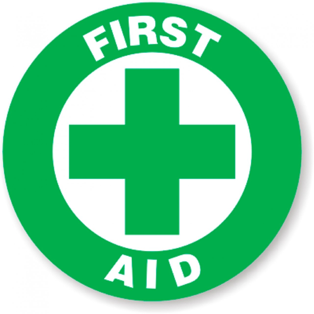 hight resolution of first aid signage clipart library