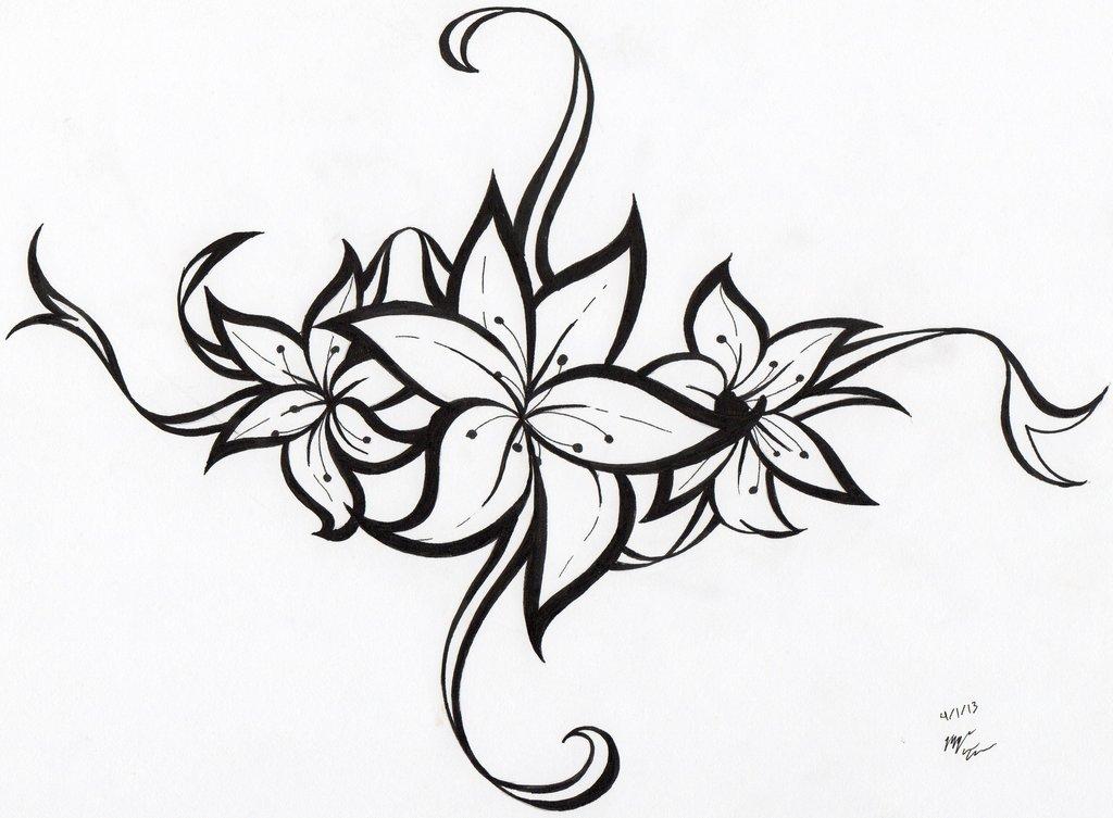 Free Tribal Bunga Mawar Download Free Clip Art Free Clip