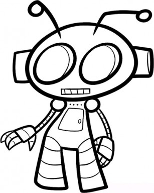 How to draw robots for Android