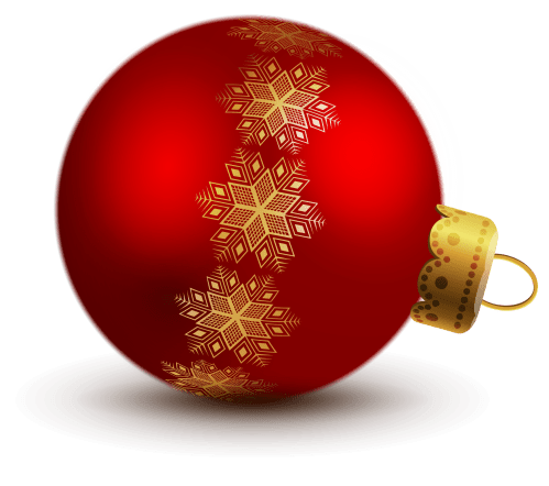 small resolution of transparent red christmas ball ornaments clipart