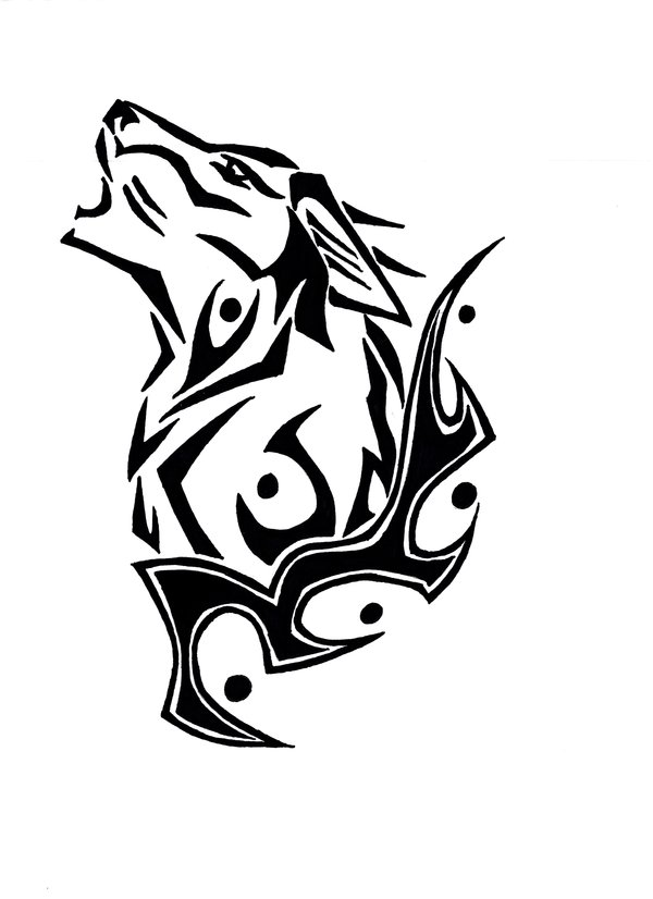 Free Wolf Head Outline, Download Free Clip Art, Free Clip