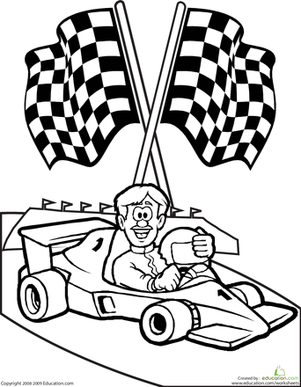 Free Rac Cars To Color, Download Free Clip Art, Free Clip