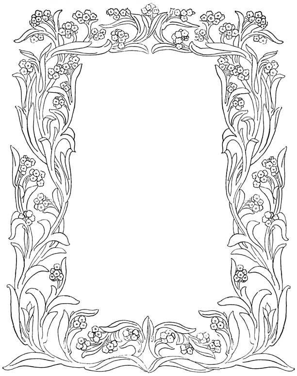 Free Borders For Letters, Download Free Clip Art, Free