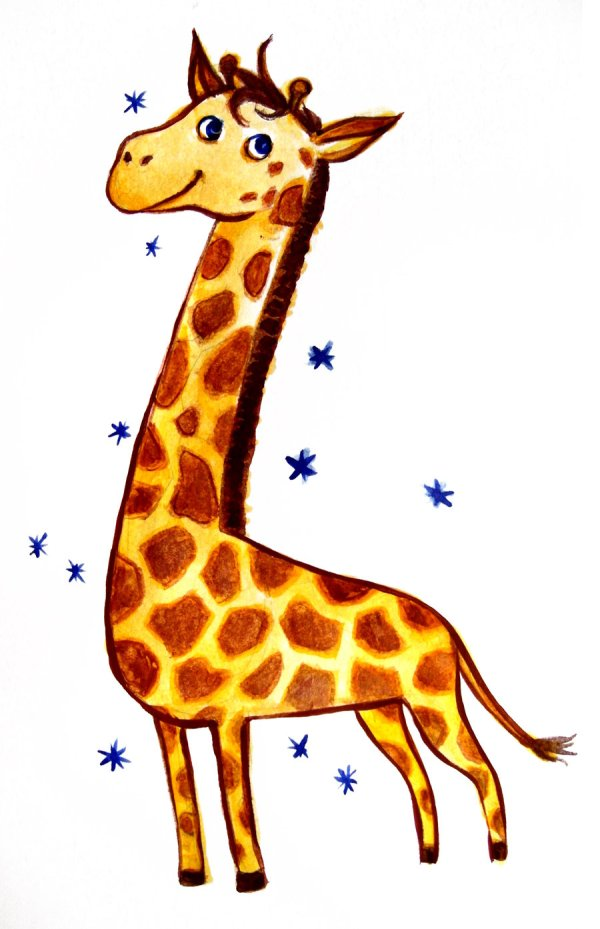 Cute Giraffe Drawings