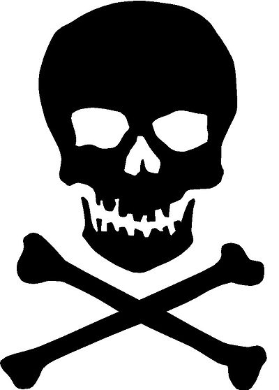 Skull and crossbones clipart Icons - Free Download, PNG