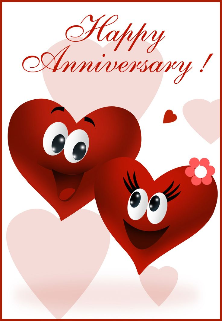 Animated Anniversary : animated, anniversary, Happy, Anniversary,, Download, Clipart, Library