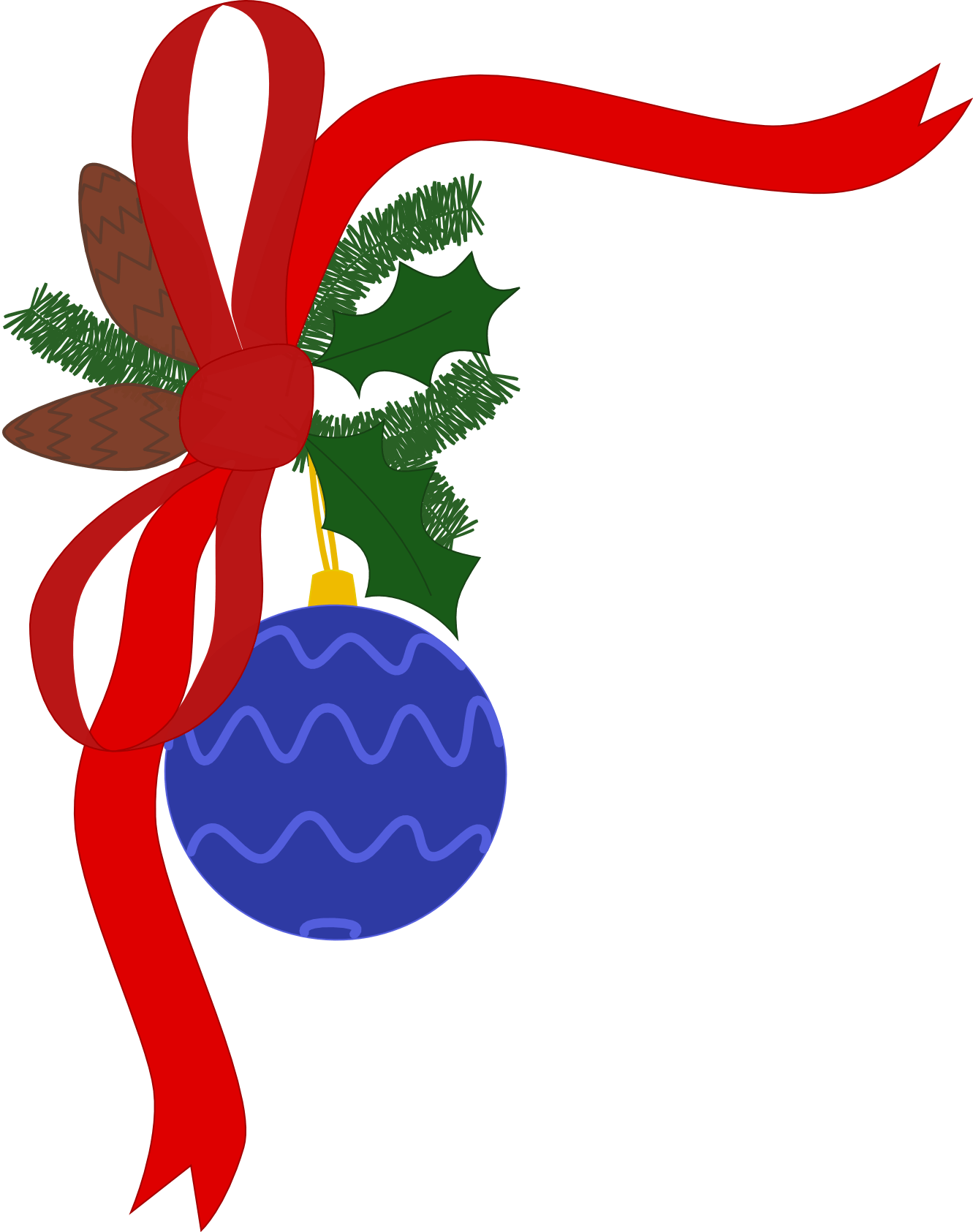 hight resolution of christmas decorations clip art clipart library