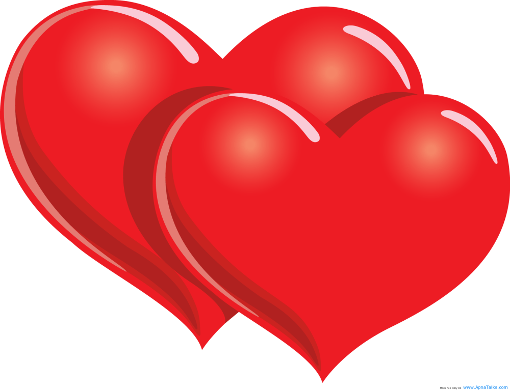 medium resolution of two red hearts with happy valentine day happy valentines day