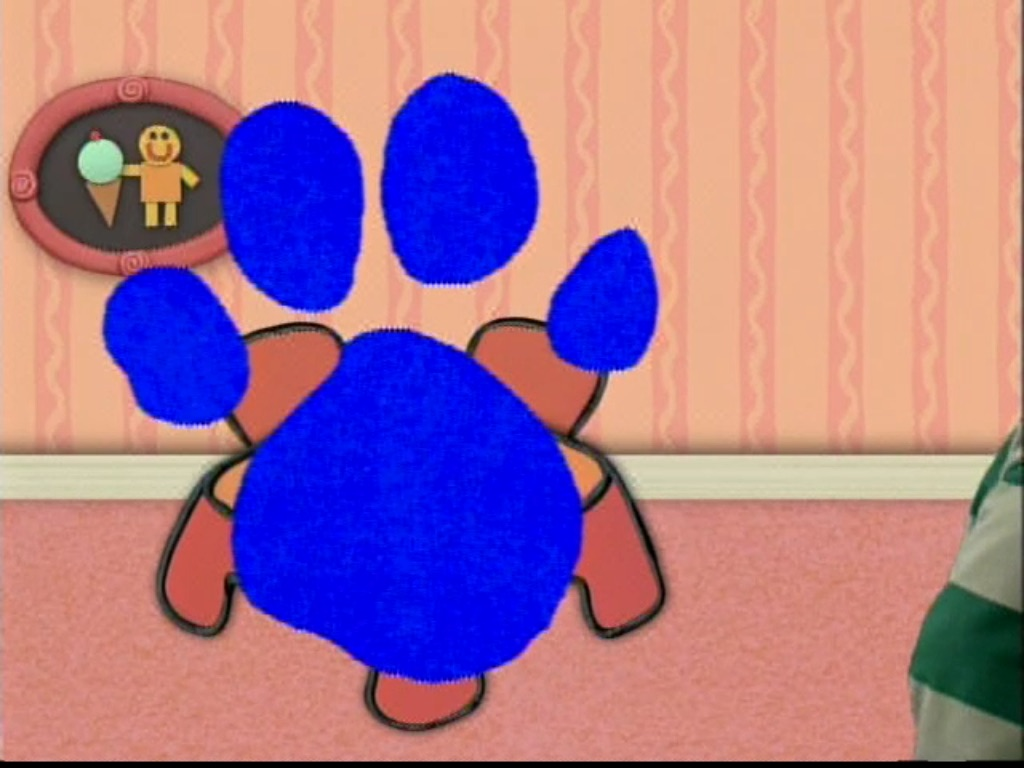 hight resolution of blues clues paw print 1661160 license personal use