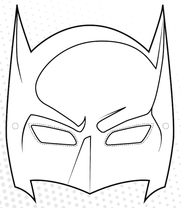 Free Batman Mask Template, Download Free Clip Art, Free Clip Art on Clipart Library