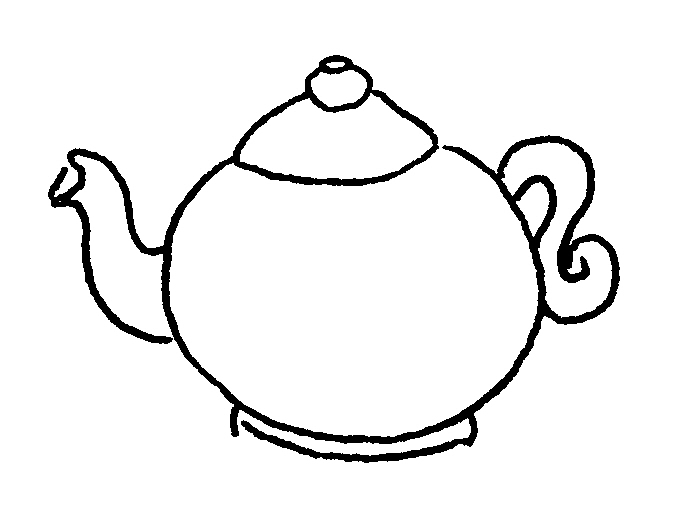 Free Teapot Outline, Download Free Clip Art, Free Clip Art