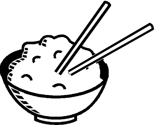small resolution of rice clipart black and white clipart library free clipart images