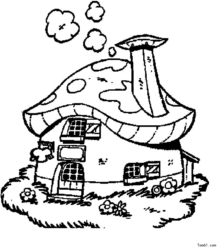 Free Stick Figure House, Download Free Clip Art, Free Clip