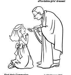 first communion printable coloring pages communion colouring [ 1275 x 1650 Pixel ]