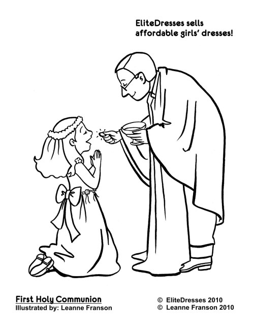 small resolution of first communion printable coloring pages communion colouring
