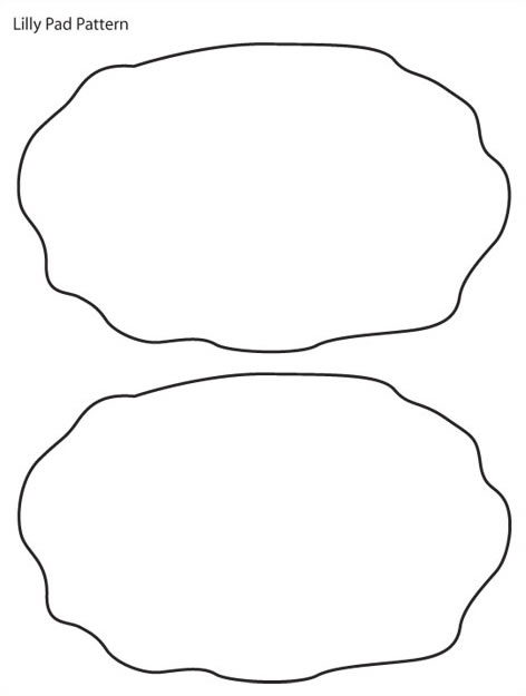 Free Lily Pad Outline, Download Free Clip Art, Free Clip