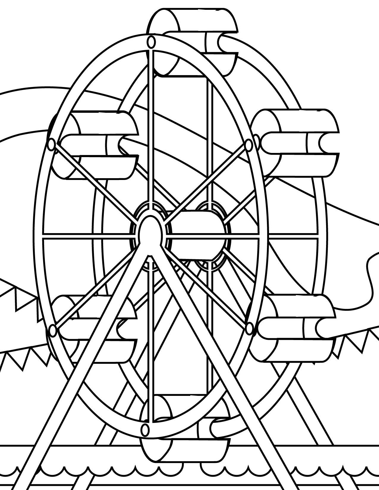 Free Ferris Wheel Cartoon, Download Free Clip Art, Free