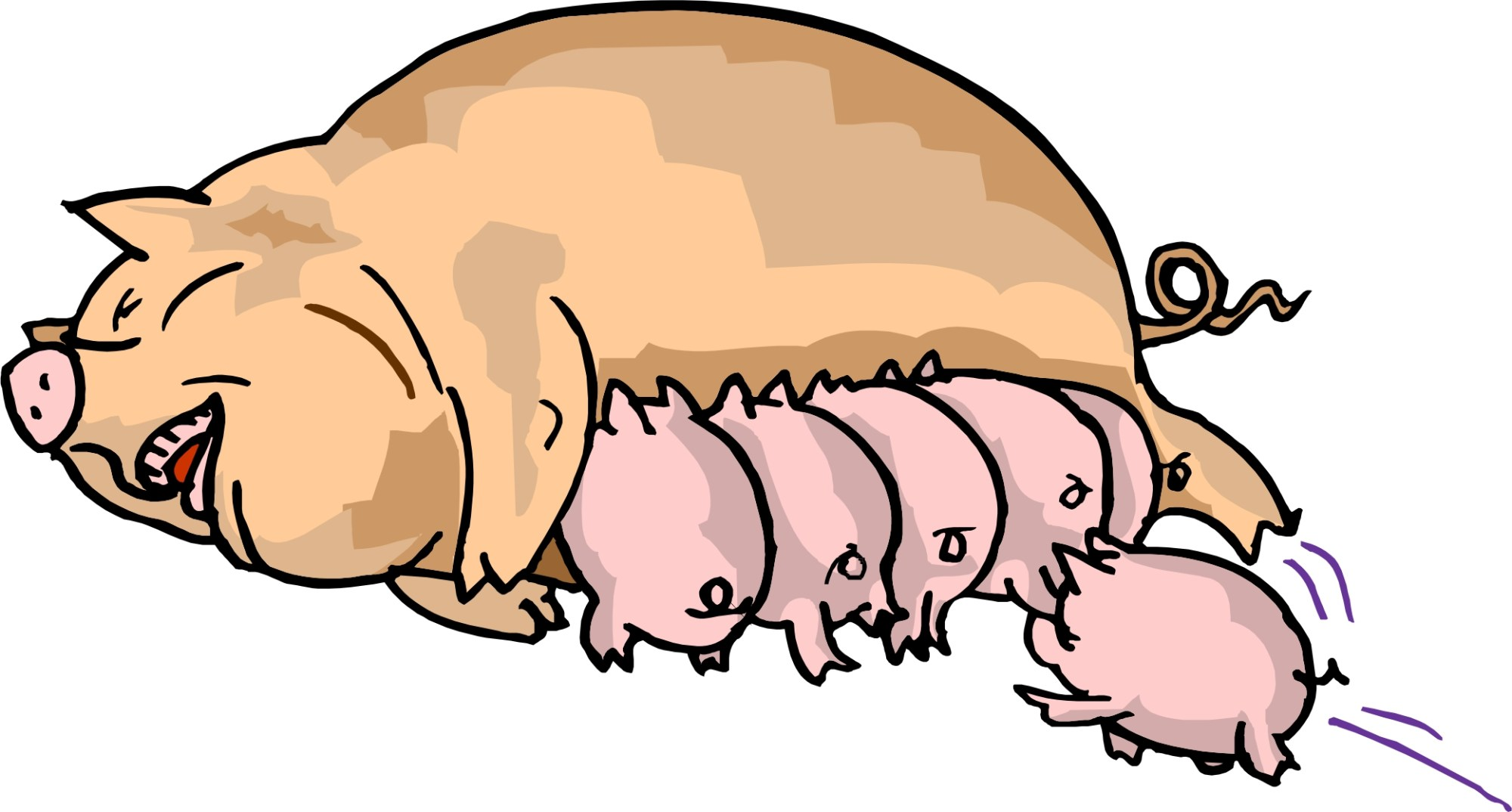 hight resolution of pig in mud cartoon clipart library free clipart images