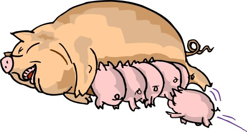 small resolution of pig in mud cartoon clipart library free clipart images