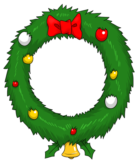 free christmas wreaths