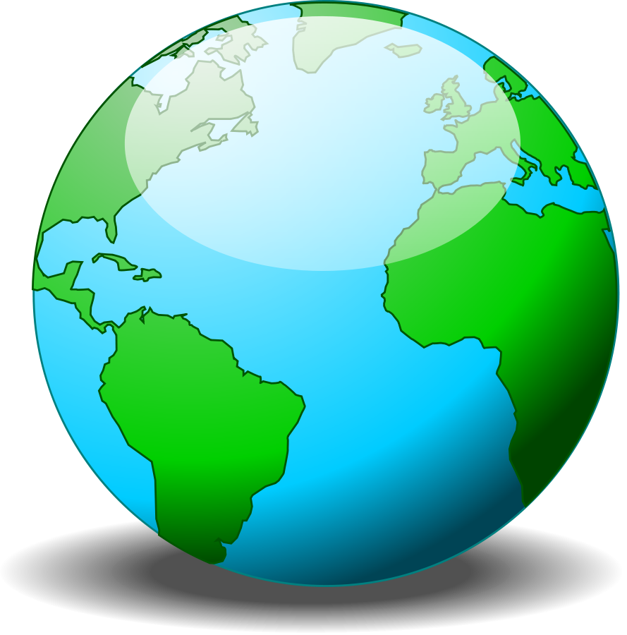 hight resolution of simple globe vector clipart library free clipart images