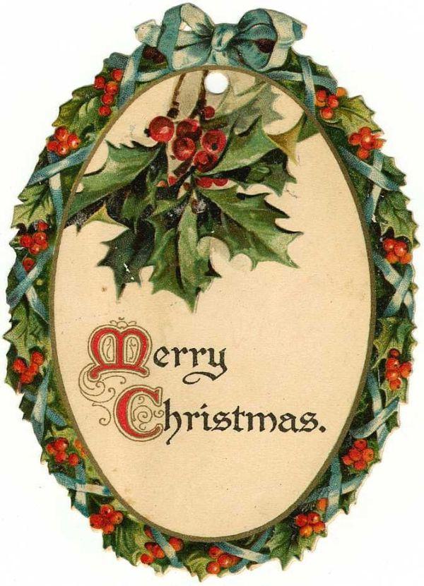 free vintage christmas illustration