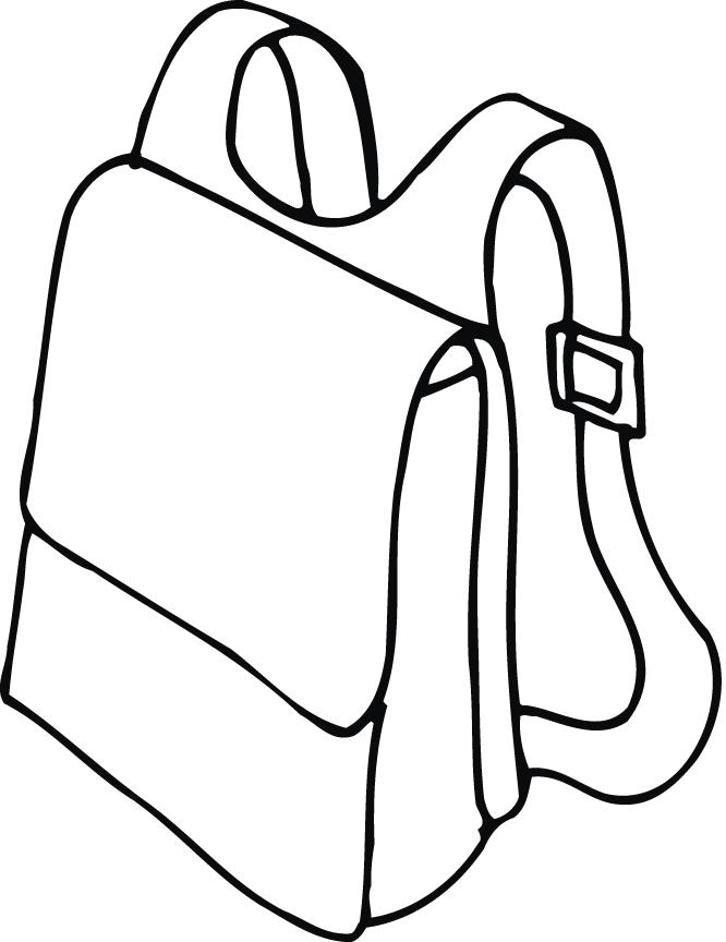 Bag Clipart School Library