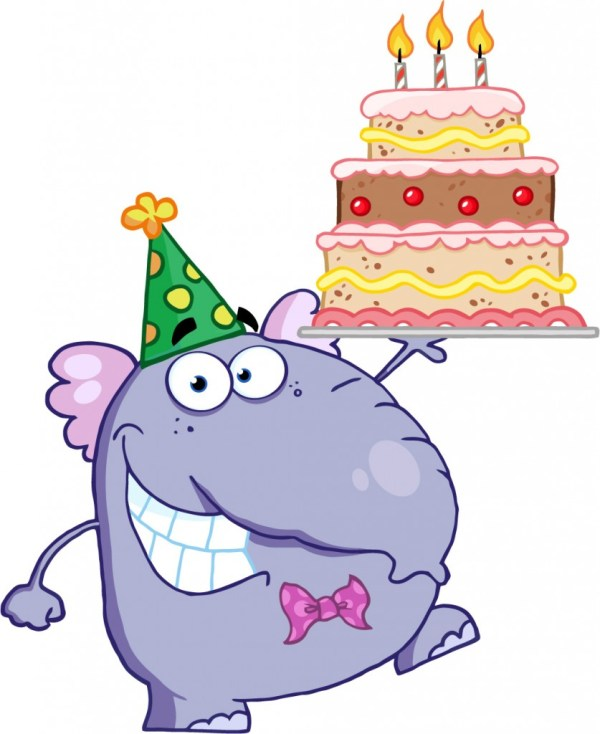 Free Birthday Cake Cartoon Clip Art