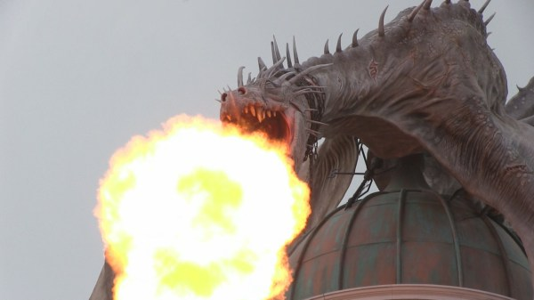 Real Dragons Breathing Fire