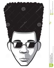 free afro hair clipart