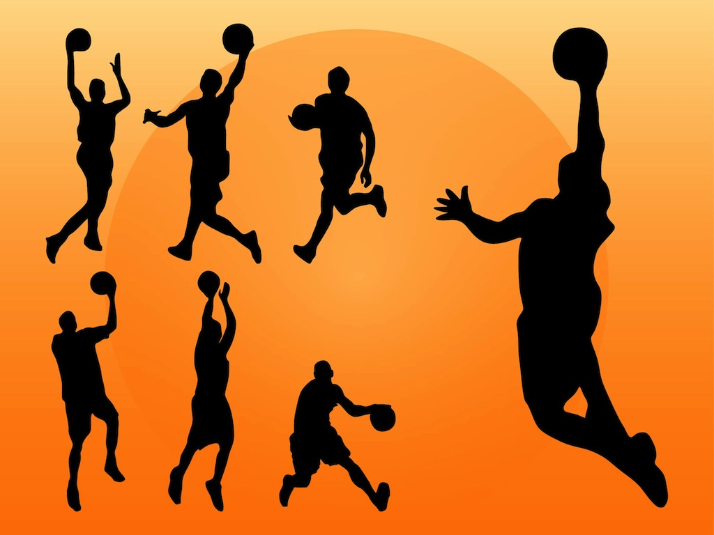hight resolution of basketball vector clipart library